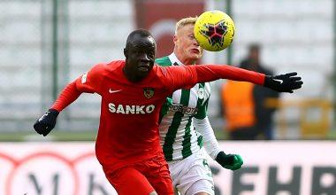 Gaziantep FK Konya'da galibiyet hasretini dindiremedi