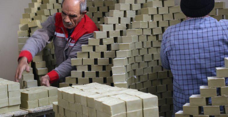 Nizip'in zeytinyağlı sabununa ilgi artıyor