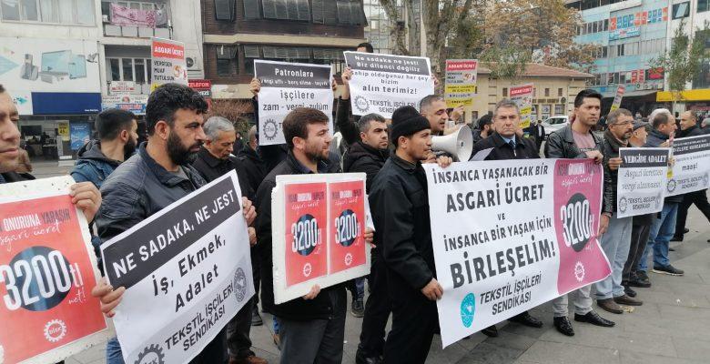 DİSK Gaziantep'ten asgari ücret açıklaması