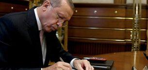 Cumhurbaşkanı bu sabah imzaladı