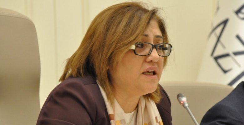 Fatma Şahin İdlib Şehitleri İçin Baş Sağlığı Diledi