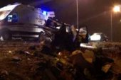 Trafik Kazası: 1 Ölü 3 Yaralı Var