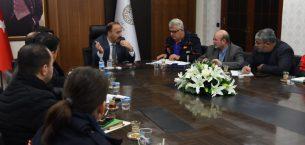 Vali, Suriye için STK'larla görüştü