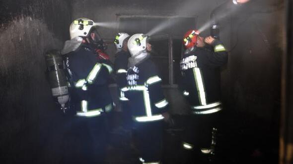 Islahiye'de ev yangını