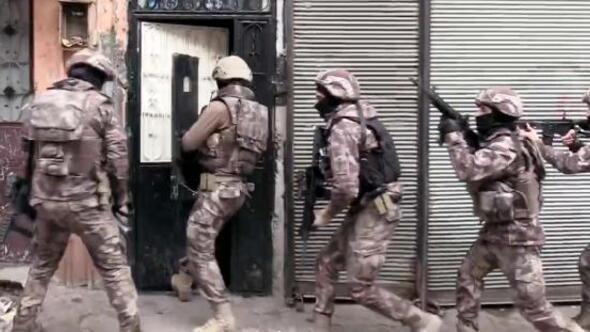 873 polisle uyuşturucu operasyonu: 34 gözaltı