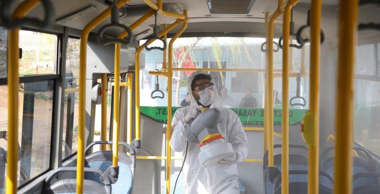 Bütün Toplu Taşıma Araçlarının Hijyeni Büyükşehir'e Emanet