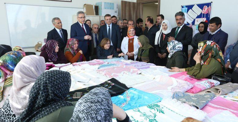 Büyükşehir Belediyesinin Kadınlara Yönelik Projeleri