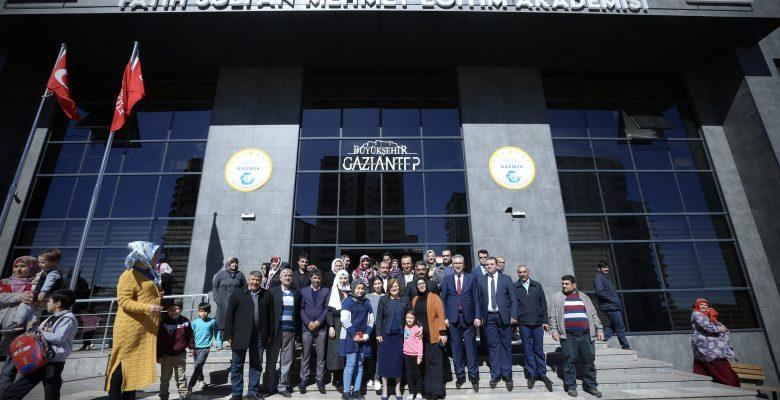 Şahin'den Beykent Gasmek Fatih Sultan Mehmet Eğitim Akademisi'ne Ziyaret