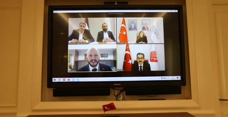 Türkiye Belediyeler Birliği'nden Filistin Yerel Yönetimler Birliği'ne Destek!