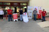 Gaziantep'te Yesemek Rotary'inin Kızılay ile iş birliği