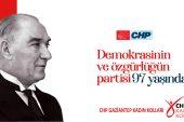CHP Gaziantep Kadın Kolları'ndan 9 Eylül mesajı