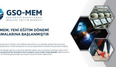 GSO-MEM'de yeni eğitim dönemi çalışmaları başlıyor
