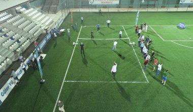 Talat Özkarslı ayak tenisi turnuvası başladı