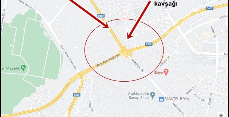Gaziantep'liler İpek Yolunda kavşak çalışması var Dikkat…