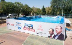 Şahinbey'de yüzme bilmeyen kalmayacak