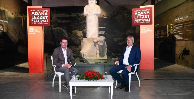 Başkan Zeydan Karalar'dan, Cüneyt Özdemir'e ciğer kebabı tüyoları