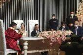 Gazeteci Hanifi Kılıç nikah defterine adını yazdırdı
