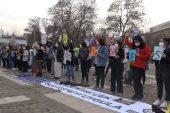 """Gaziantep """" İstanbul sözleşmesini değil cinayetleri engelle """""""