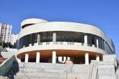 Adalet Bakanı Gül, Gaziantep'te cemevi inşaatında incelemede bulundu