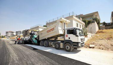Şehitkamil Belediyes yol yapım çalışmalarına devam ediyor