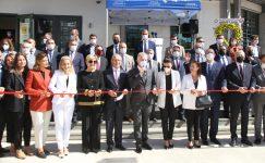 Gaziantep'te hayırseverlerin desteğiyle yapılan lisenin açılışı yapıldı